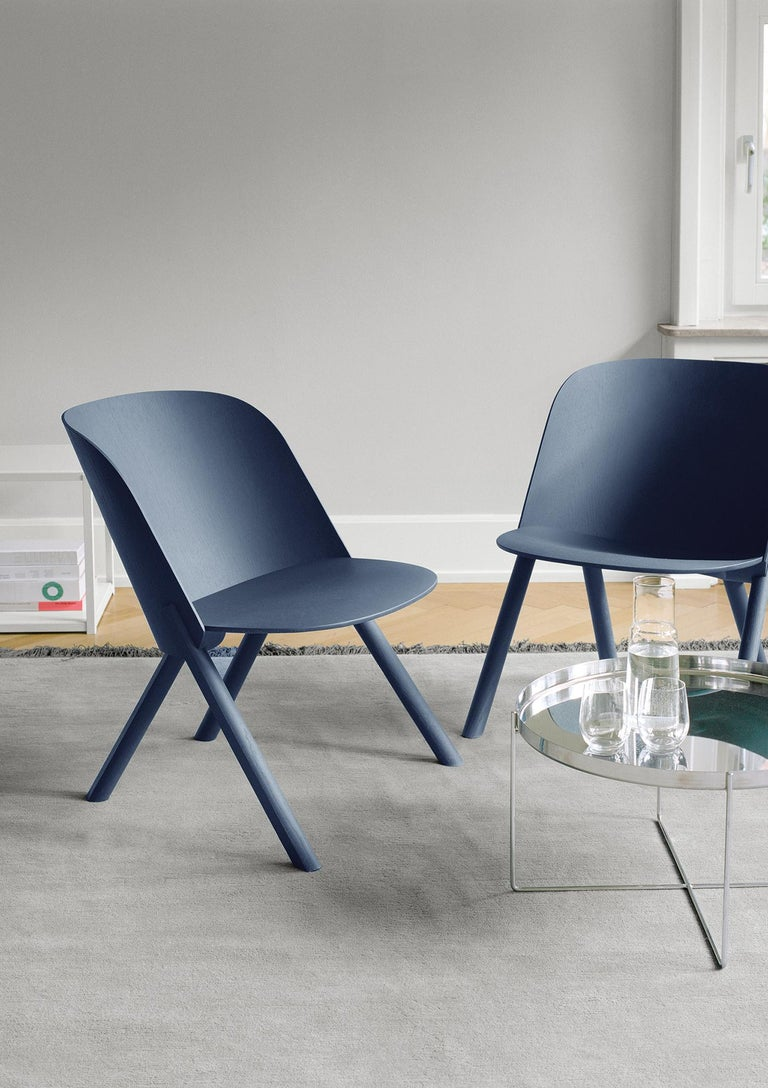 Contemporary e15 Habibi Short Side Table by Philipp Mainzer For Sale