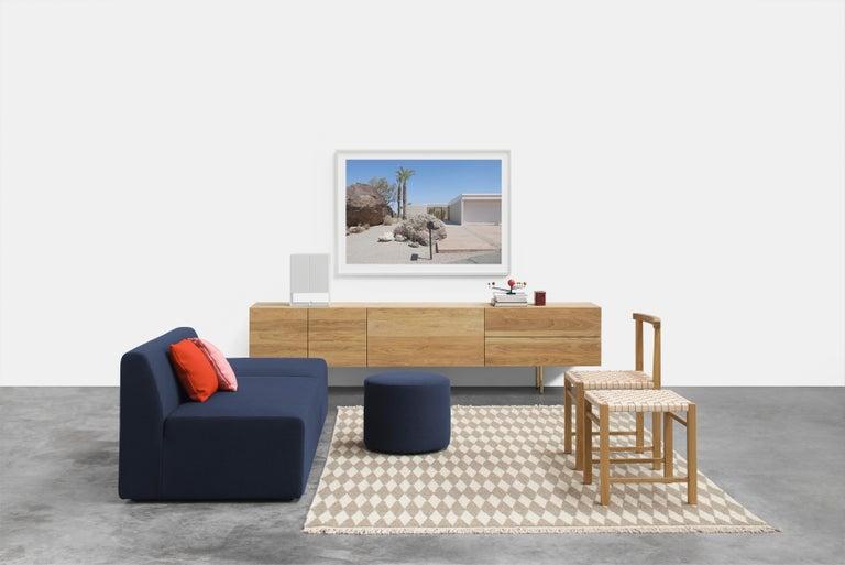 e15 Karnak Chair with European Oak Base by Ferdinand Kramer For Sale 2