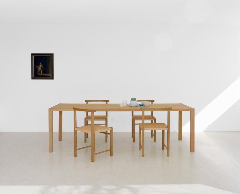 e15 Karnak Chair with European Oak Base by Ferdinand Kramer For Sale 3