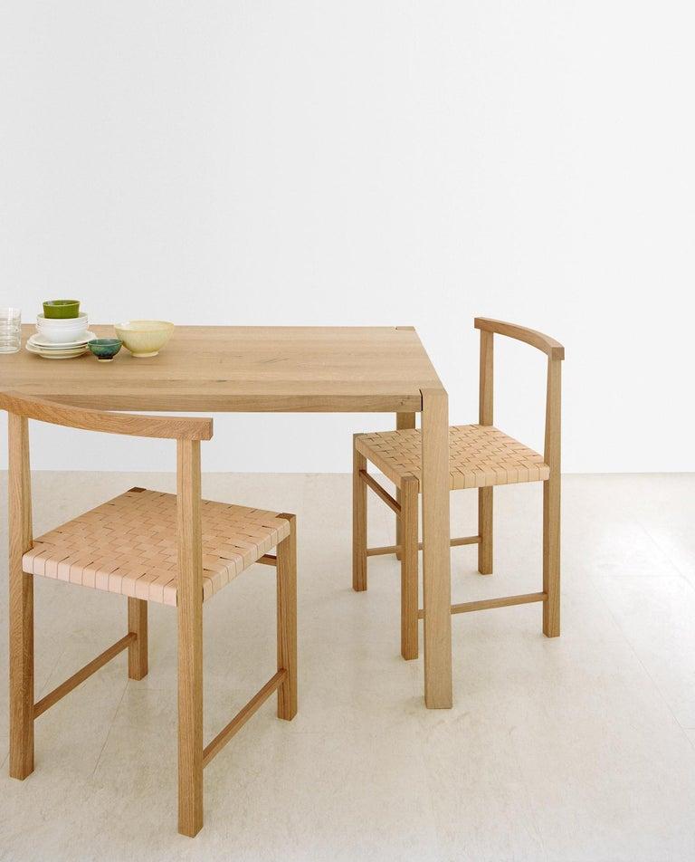 e15 Karnak Chair with European Oak Base by Ferdinand Kramer For Sale 6