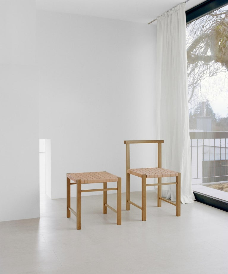 Contemporary e15 Karnak Chair with European Oak Base by Ferdinand Kramer For Sale