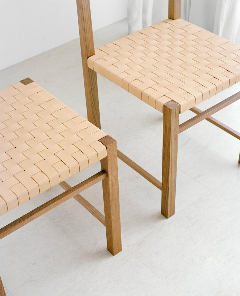 Wood e15 Karnak Chair with European Oak Base by Ferdinand Kramer For Sale