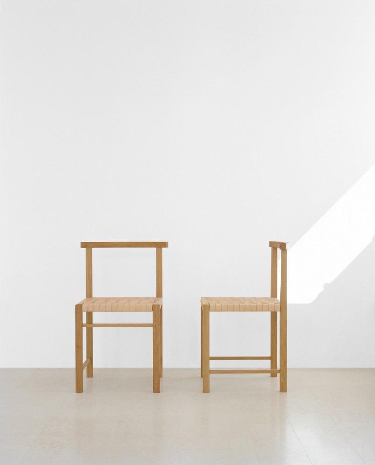 e15 Karnak Chair with European Oak Base by Ferdinand Kramer For Sale 1