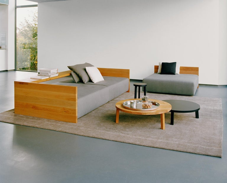 e15 Kashan Sofa with Oak Waxed Frame by Philipp Mainzer In New Condition For Sale In New York, NY
