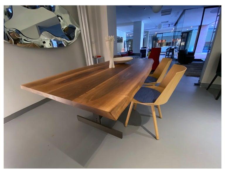 E15 Kazimir Walnut Table by Philipp Mainzer For Sale 5