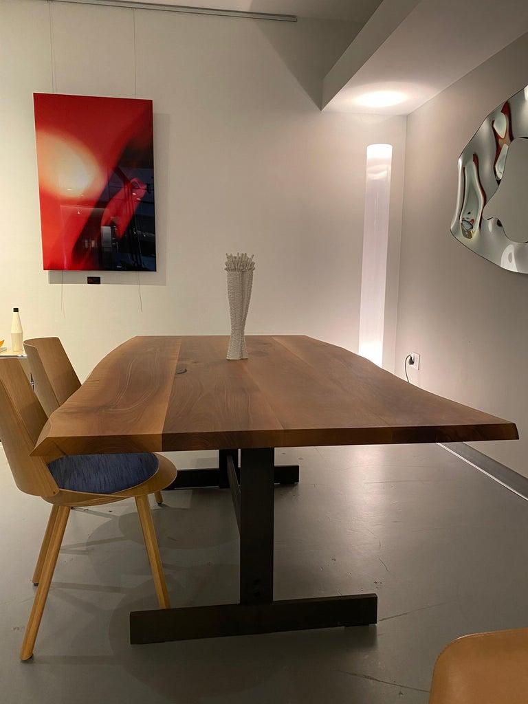 German E15 Kazimir Walnut Table by Philipp Mainzer For Sale