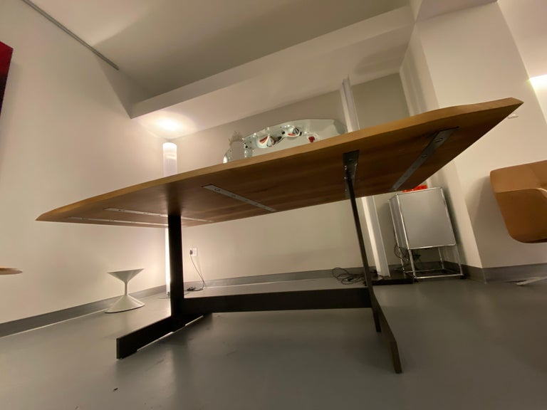 E15 Kazimir Walnut Table by Philipp Mainzer In Excellent Condition For Sale In New York, NY