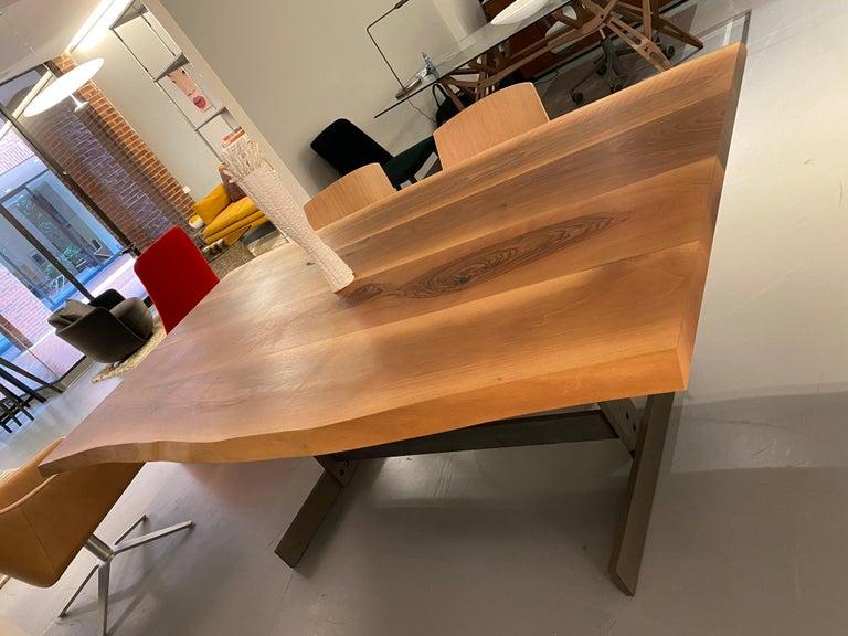E15 Kazimir Walnut Table by Philipp Mainzer For Sale 1