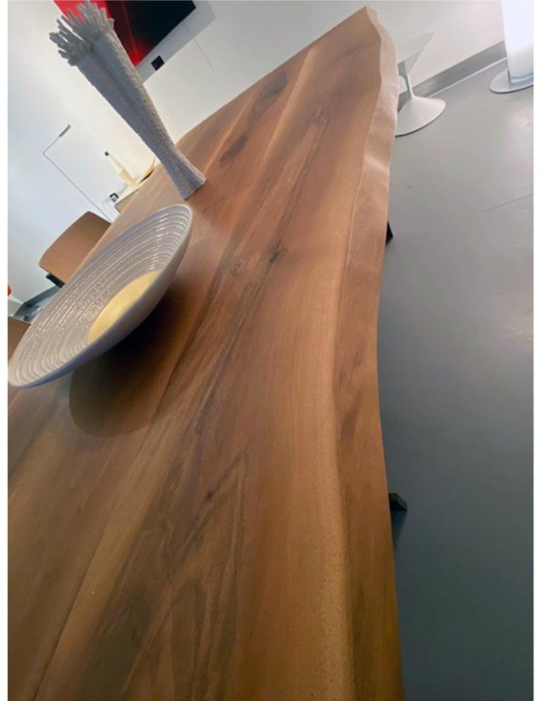 E15 Kazimir Walnut Table by Philipp Mainzer For Sale 3