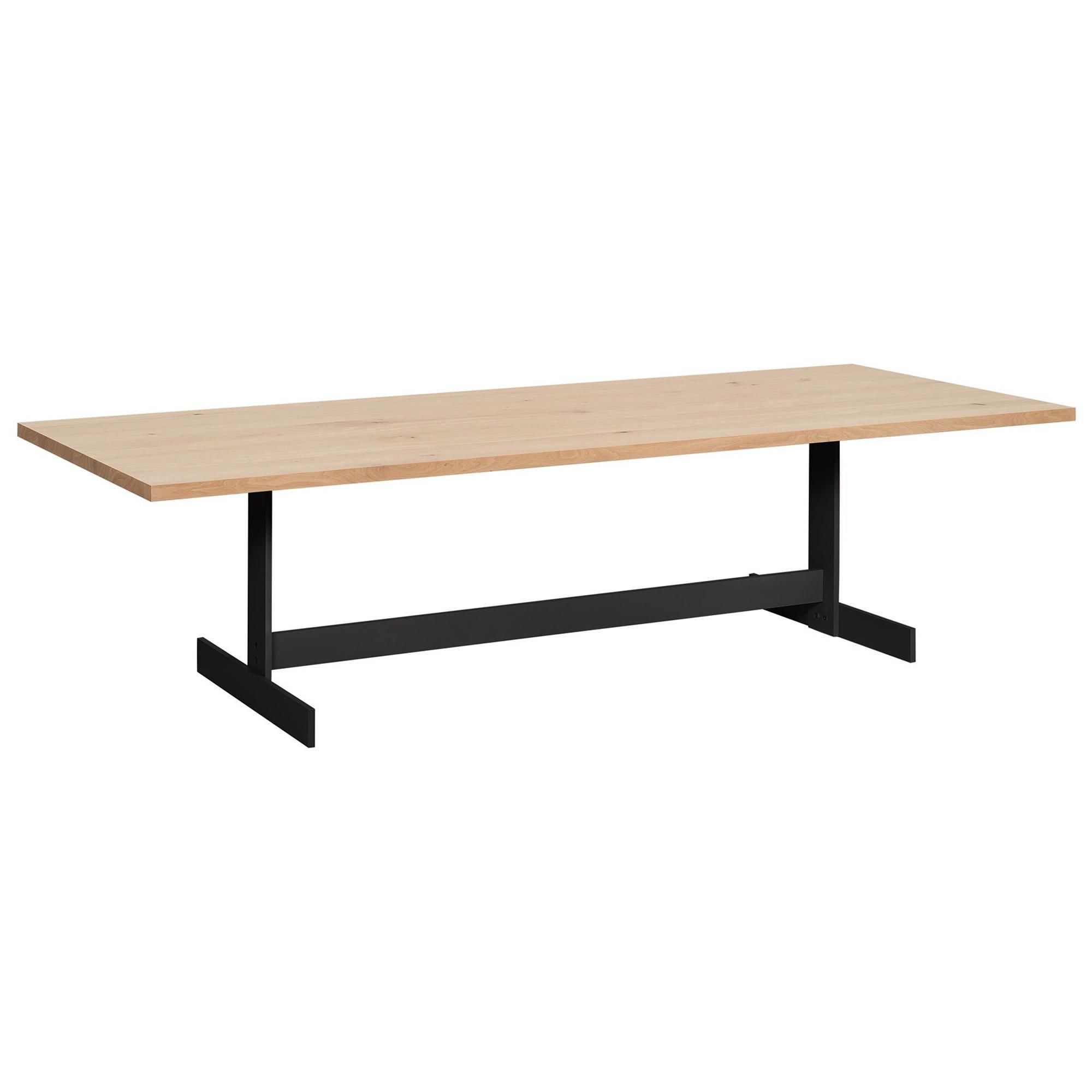 e15 Kazimir Table with Jet Black Base by Philipp Mainzer