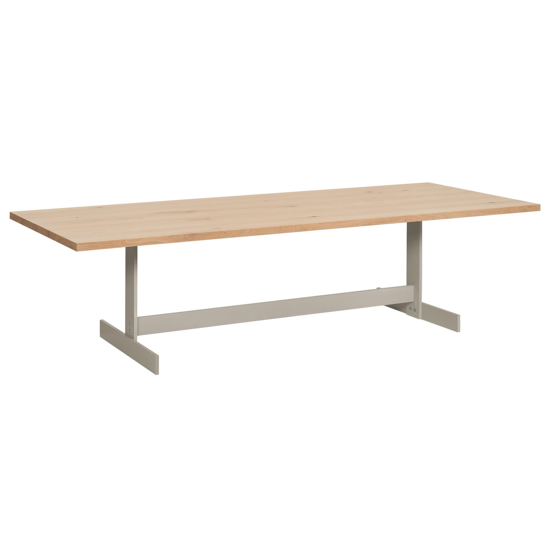 e15 Kazimir Table with Silk Grey Base by Philipp Mainzer