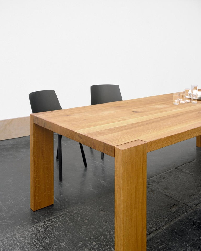 Modern e15 London Wood Table by Philipp Mainzer For Sale