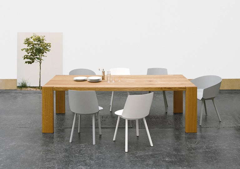 German e15 London Wood Table by Philipp Mainzer For Sale