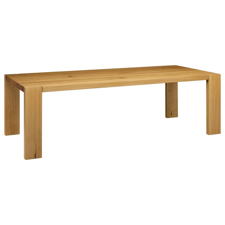 For Sale: Brown (Oil Oaked) e15 London Wood Table by Philipp Mainzer