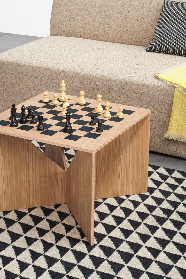 German e15 Selected Calvert Chess Coffee Table by Ferdinand Kramer For Sale