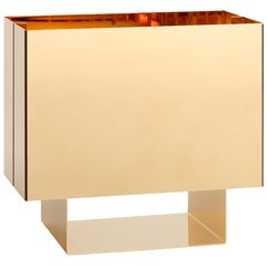 e15 Selected Seam One 24-Karat Gold Finish Table Light by Mark Holmes
