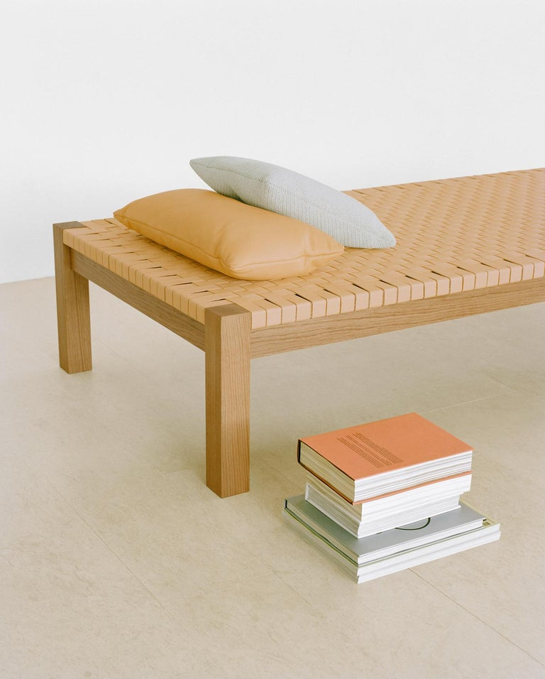 e15 Theban Daybed with Walnut Waxed Base by Ferdinand Kramer For Sale 1