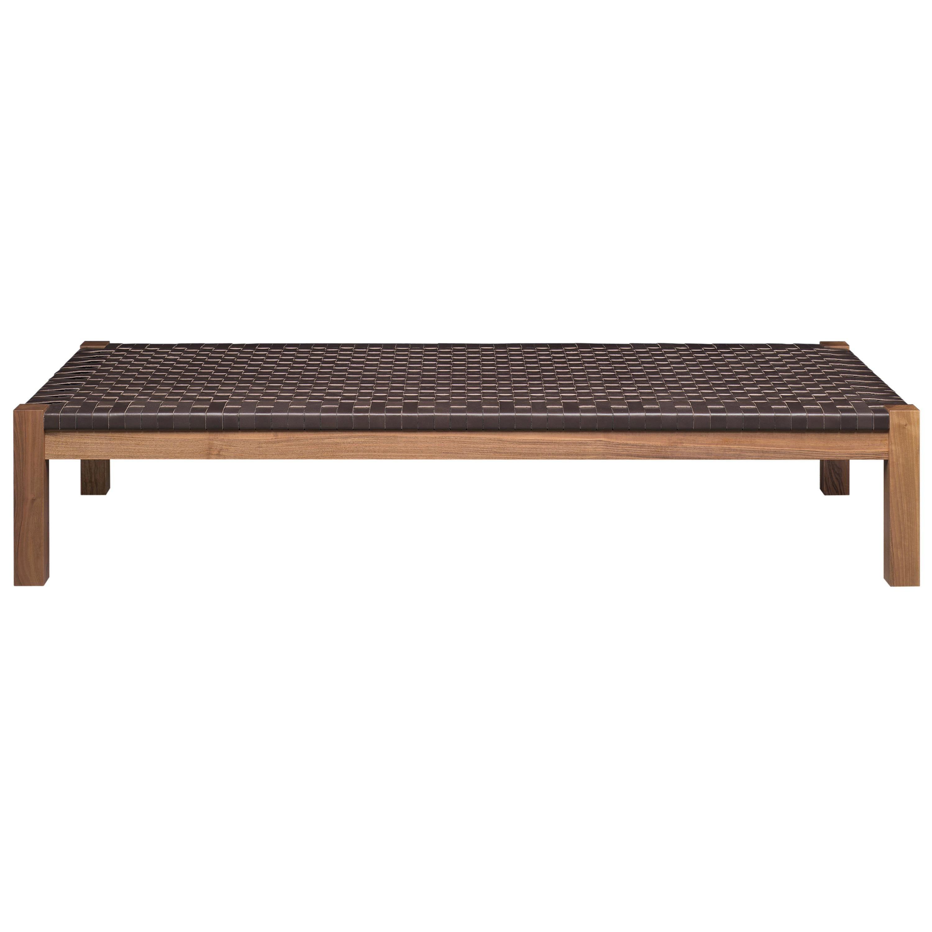 e15 Theban Daybed with Walnut Waxed Base by Ferdinand Kramer
