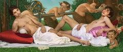 Ode to Botticelli's Venus & Mars