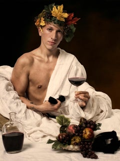 Ode to Caravaggio's Bacchus