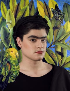 Ode to Frida Kahlo's Self-Portrait with Bonito