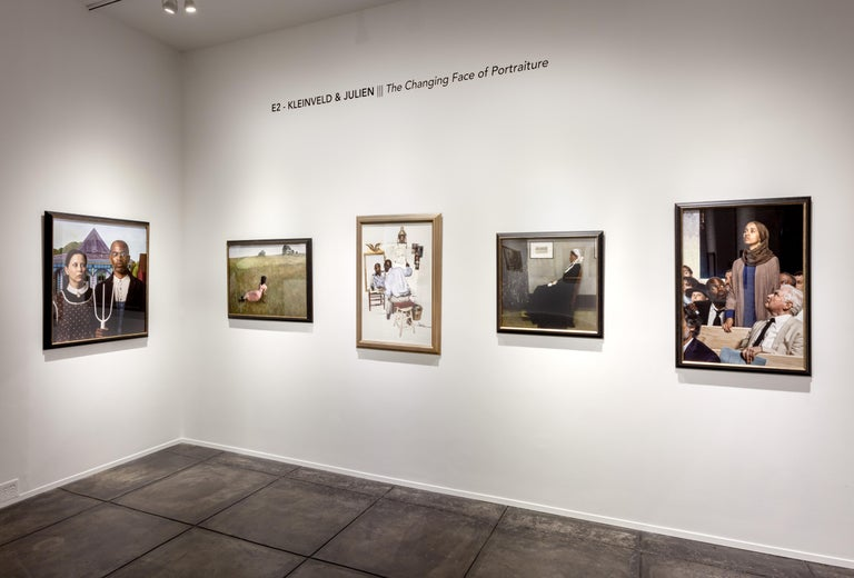 Ode to Frida Kahlo's The Broken Column - Brown Portrait Photograph by E2 - Kleinveld & Julien