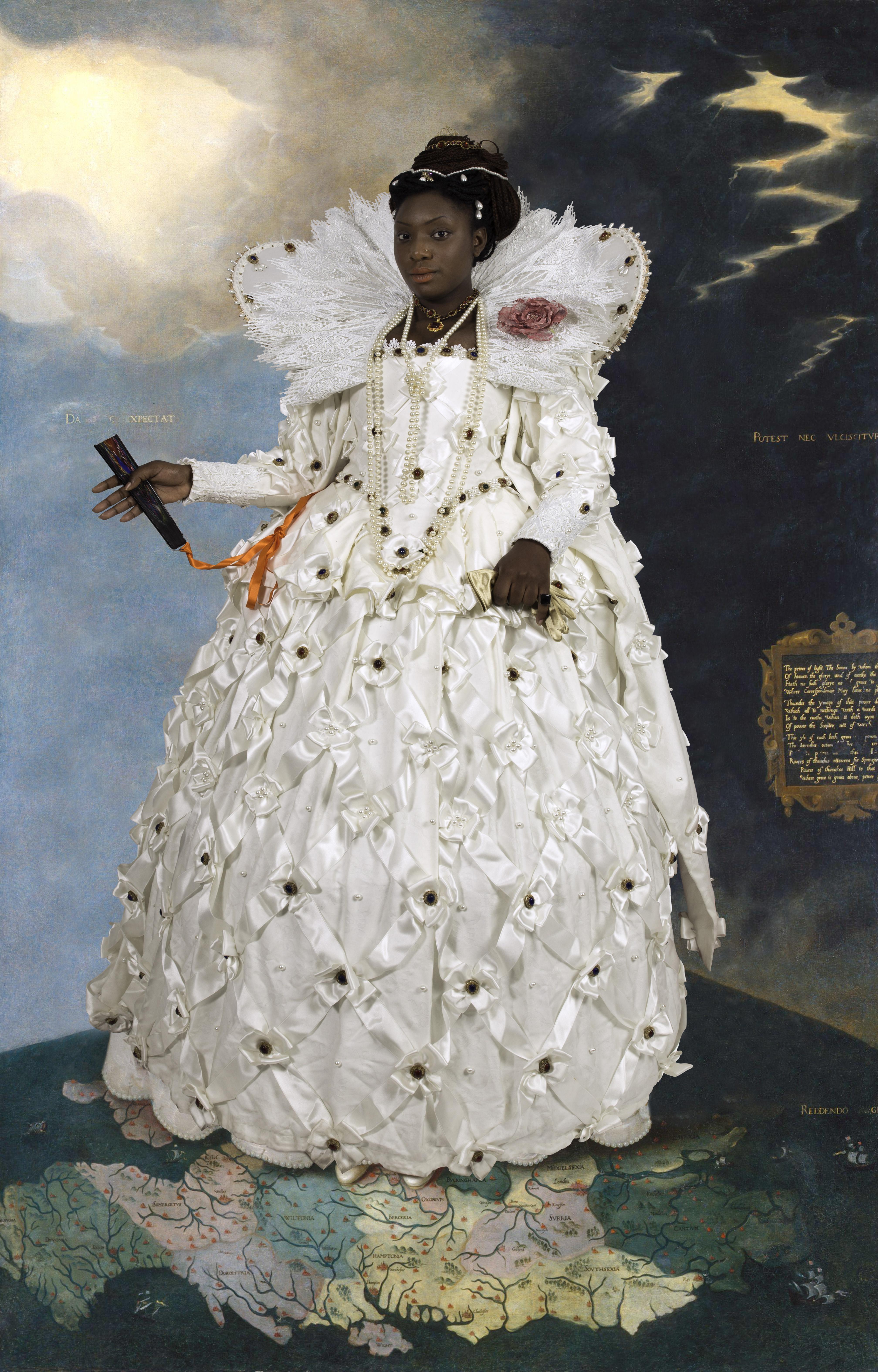 Ode to Gheeraerts' Portrait of Elizabeth I