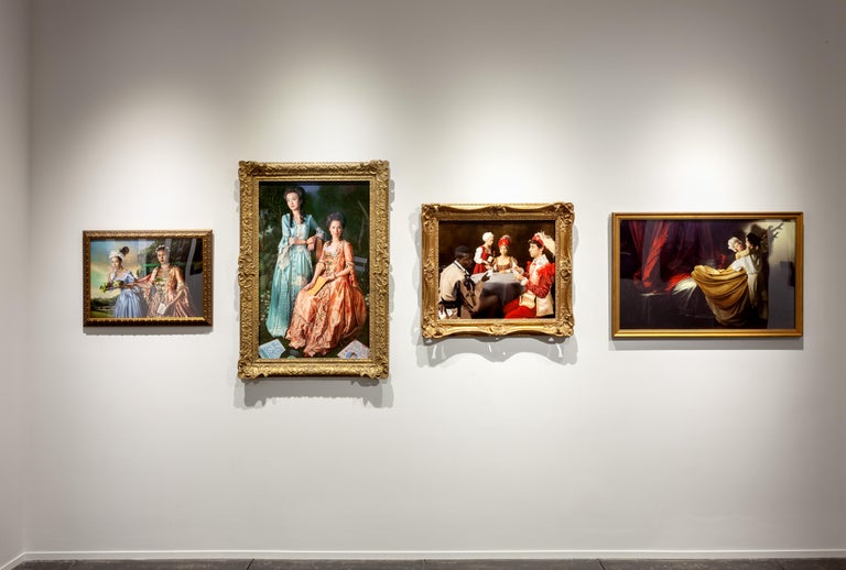 Ode to Ingres' Grand Odalisque For Sale 3