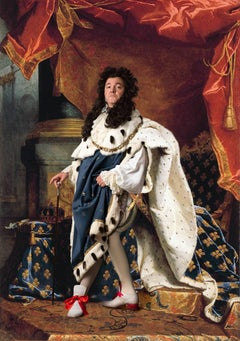 Ode to Rigaud's Louis XIV