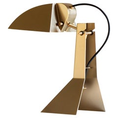 E63 Champagne Gold Table Lamp