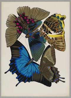 Butterfly Pochoir Prints - 1