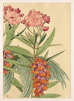 Floral Pochoir Prints - 1