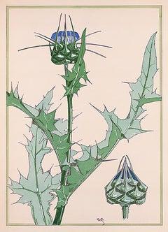 Floral Pochoir Prints - 5