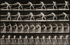 Animal Locomotion: Plate 370 (Nude Man Planing Wood), 1887