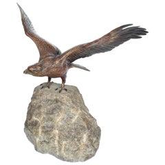 Franz Bergman Bronze Eagle