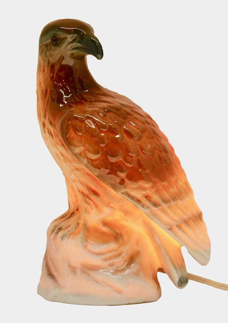 Eagle Perfume Lamp Air Purifier Carl Scheidig Gräfenthal, Germany, circa 1930s For Sale 5