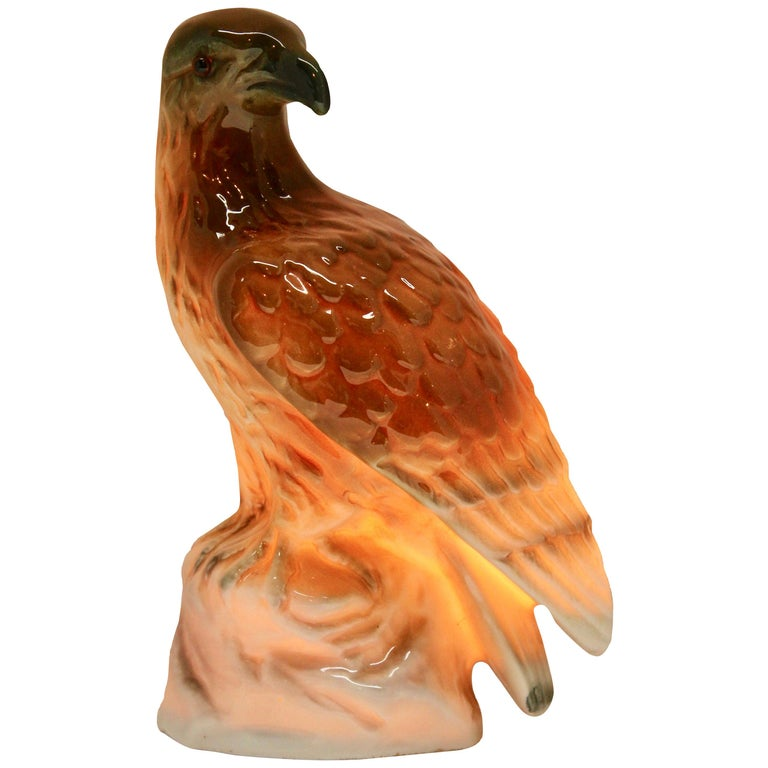 Eagle Perfume Lamp Air Purifier Carl Scheidig Gräfenthal, Germany, circa 1930s In Good Condition For Sale In Verviers, BE