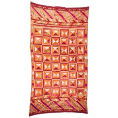 Early 20th Century Phulkari from India