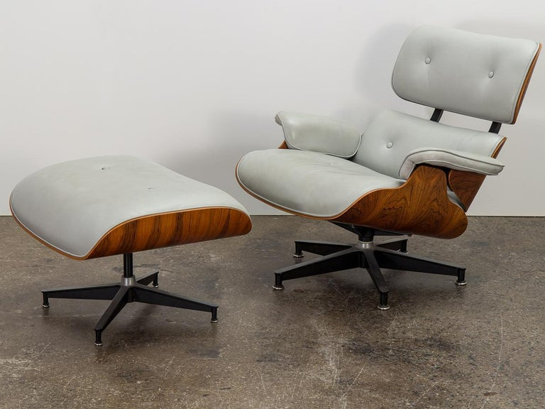American Eames 670 Lounge Chair and 671 Ottoman For Sale
