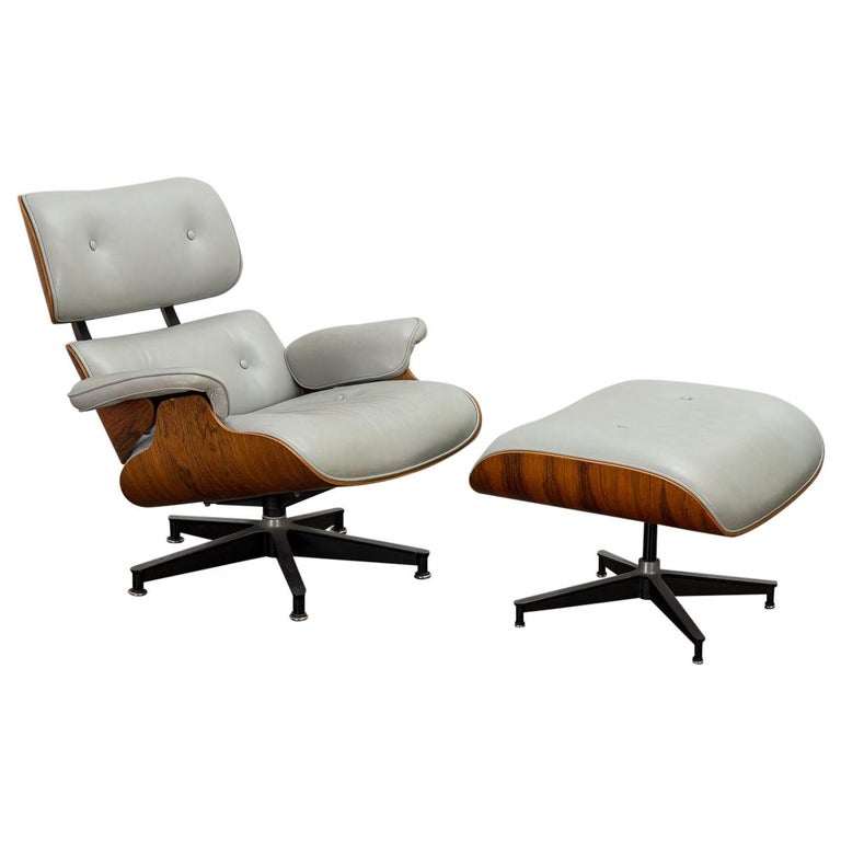 Eames 670 Lounge Chair and 671 Ottoman For Sale