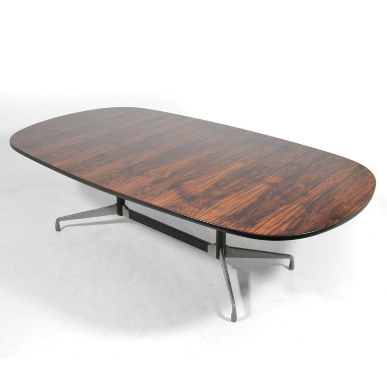 8 Foot Dining Table: Eames 8 Foot Rosewood Dining Table By Herman Miller For