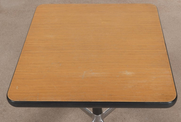 American Eames Action Office Machine Table on Wheels with Contract Base for Herman Miller
