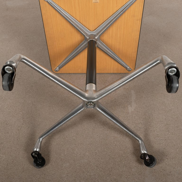 Eames Action Office Machine Table on Wheels with Contract Base for Herman Miller 1