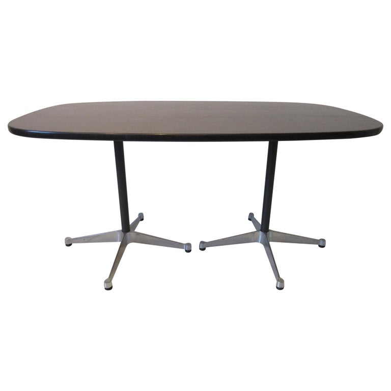 Eames Aluminum Group Dining Table for Herman Miller For Sale