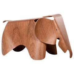 Charles and Ray Eames Plywood Elephant in Cherry wood by Vitra