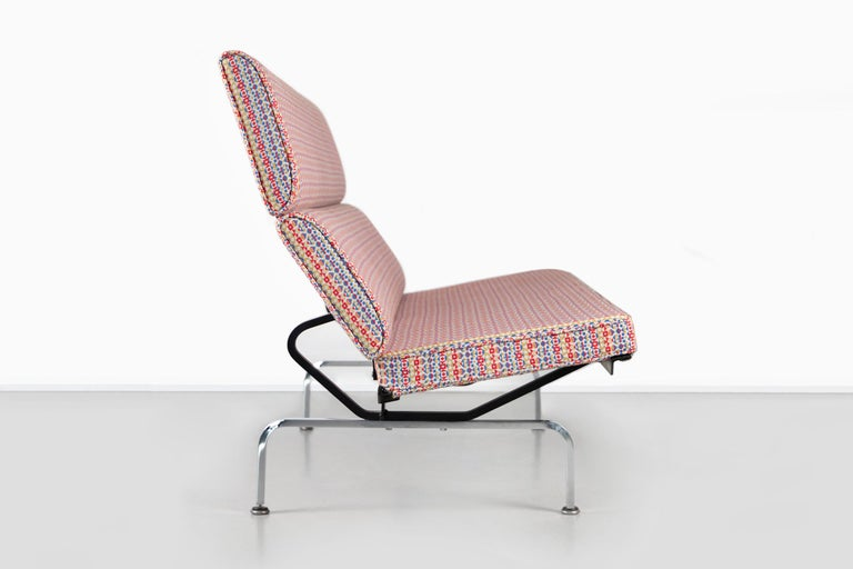 Eames Compact Sofa for Herman Miller with Alexander Girard Fabric For Sale 2