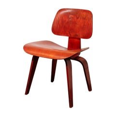 Eames DCW for Herman Miller in Red Aniline