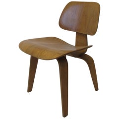 Eames DCW Molded Ply Desk Chair for Herman Miller
