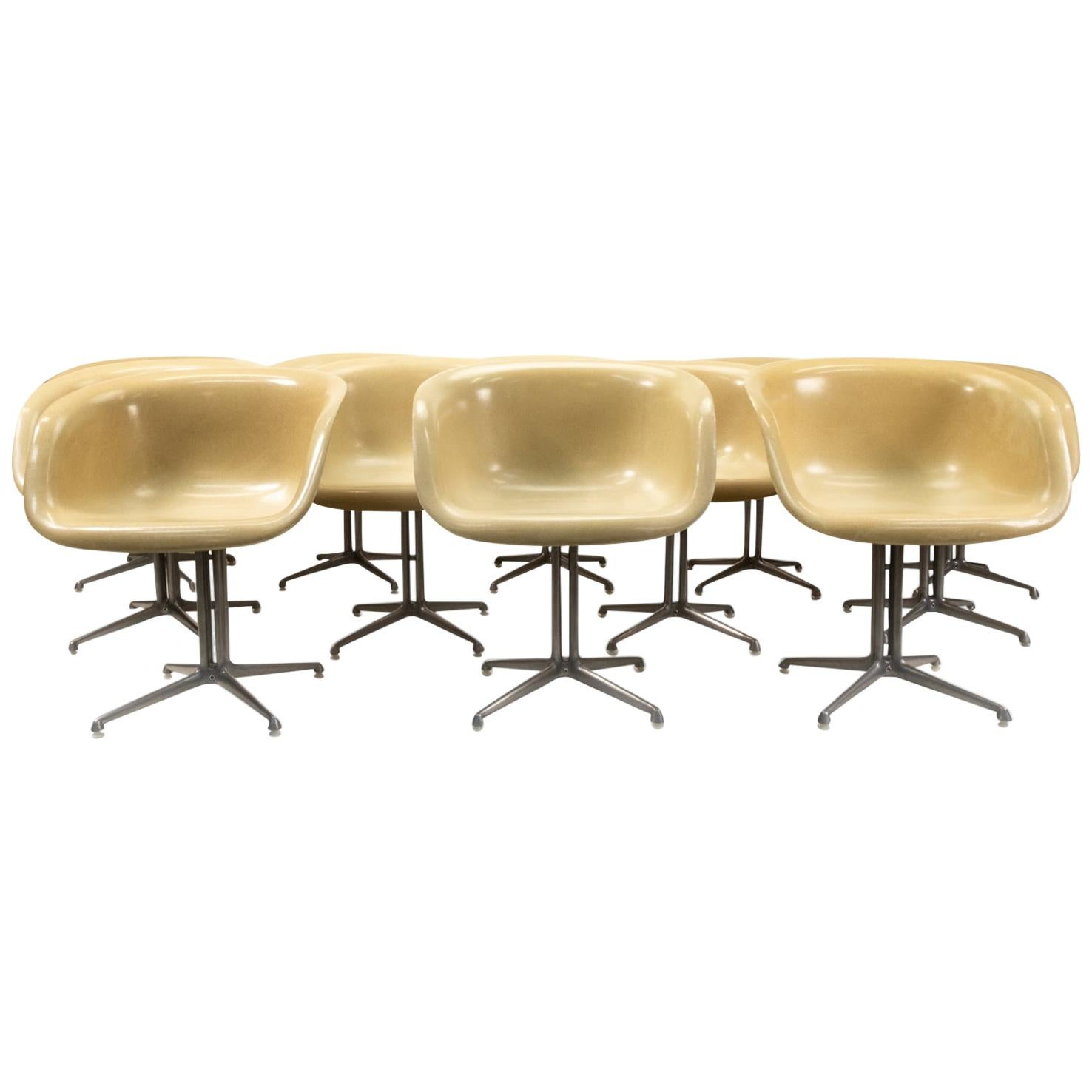 Eames Design Classic La Fonda Armchairs for Herman Miller Set of 12, 1960s