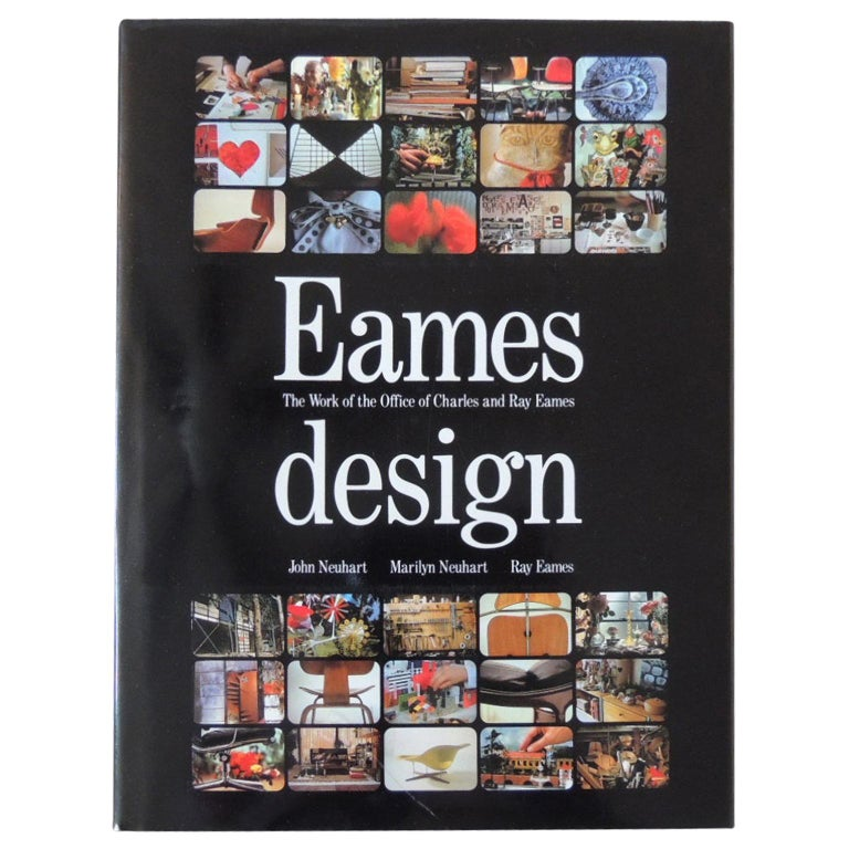 Eames Design Hardcover Book For Sale